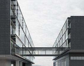 Office building - Innovation Center 3D model
