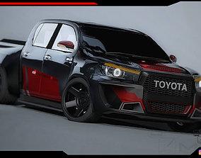 3D model Toyota Hilux pickup body Kit
