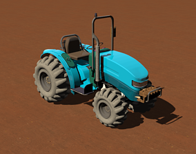 3D The Tractor brake