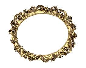 antique 3D Carved Picture Frame