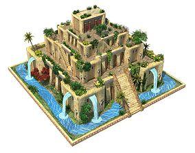 3D asset Hanging Gardens of Babylon