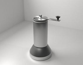 3D model Metal Coffee Bean Grinder