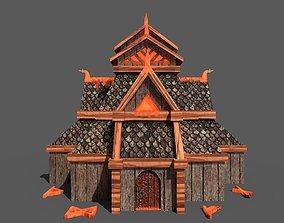 3D asset Viking - Nordic Temple