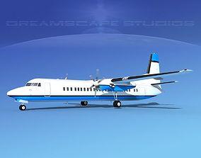 3D model Fokker F-60 Corporate 1