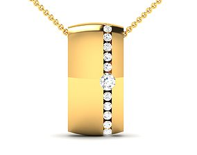 Women pendant 3dm render detail diamond jewel