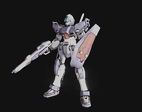 Sparrow Basic Type Gundam 3D model