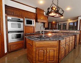 3D model PBR Kitchen