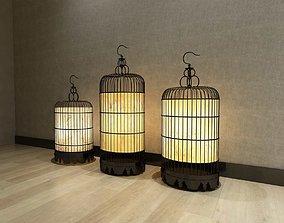 Bird Cage Lighting 3D model