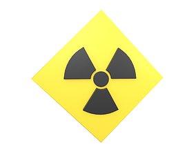 Radiation Symbol v3 001 3D model