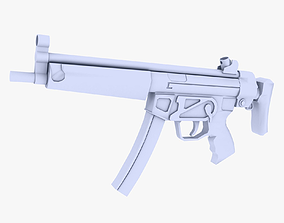 MP5 Submachine Gun 3D model