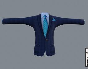3D asset Cartoon suit with handpainted texture