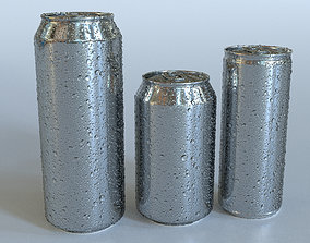 3D Beverage Can Wet - 3DS Max and CORONA