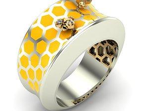 3D print model jewelry WOMAN RING