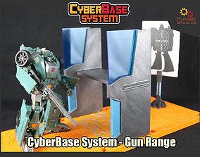 3D printable model CyberBase System Gun Range