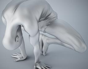 3D printable model Man yoga 003