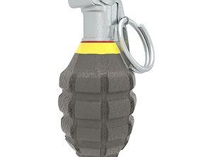 3D asset Grenade MK2