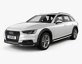 3D model Audi A4 B9 Allroad 2017