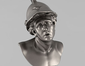 Printable bust of Young Warrior