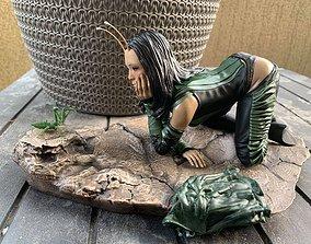 Mantis - Guardians of the 3D printable model 1