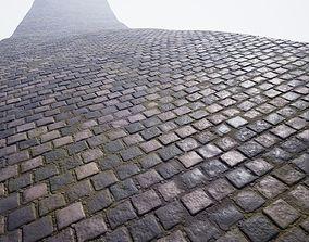 3D model Procedural cobblestone material