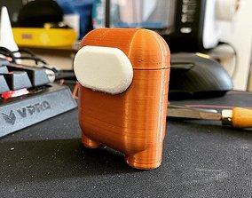 3D printable model Among Us Airpod Case