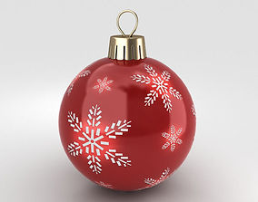 decorative Christmas Ball 3D model