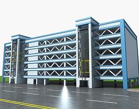Building of Parking Garage 3D model