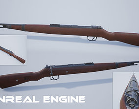 3D asset Karabiner 98k gun