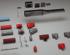 3D model Pipes part
