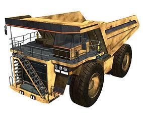 3D model Mining Dump Truck
