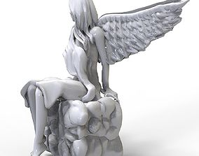 ancient Confused Angel 3D printable model