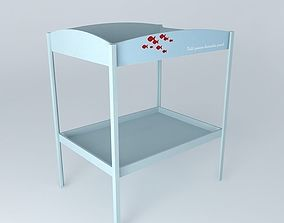 3D Changing table MARIN houses the world