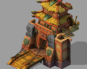 Game Army - Yingzhai - Zhaimen 02 3D model