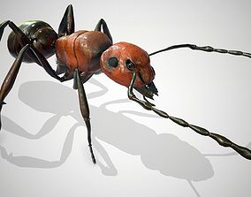 Red Ant Low Poly 3d model rigged