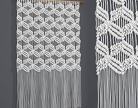 Macrame 3D weaving