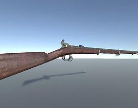 3D asset Lindsay Rifle