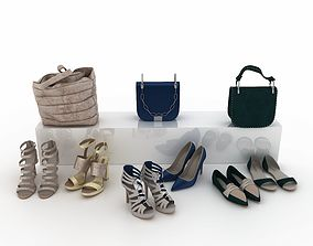 3D model Shoes and Bags