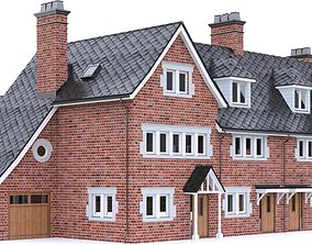 English Brick House 04 3D model
