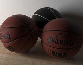 basketball-ball Basketball Spalding 3D