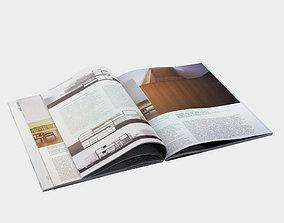 3D Open book vray