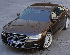 Audi A8 3D animated