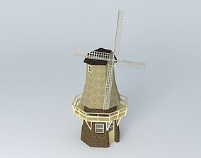 3D Dutch Windmill