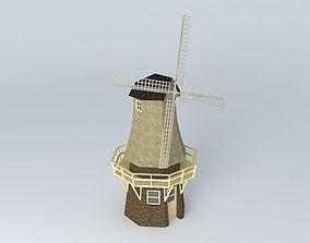 3D Dutch Windmill