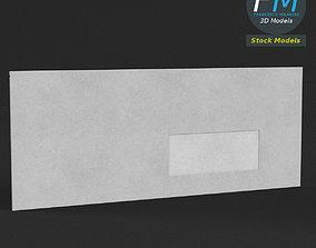 Windowed envelope 3D model