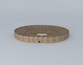 Roman amphitheater Merida 3D