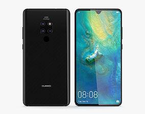Huawei Mate 20 Black 3D