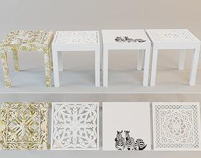 Side Tables by ZARA HOME 3D model