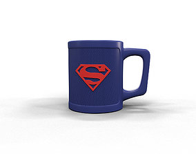 Superman cup 3D printable model