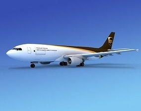 Airbus A300 UPS 1 3D model