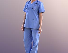 3D asset Diana 10896 - Standing Doctor